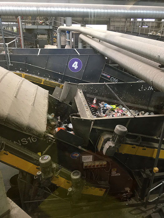 Journey Through Waste. Machinery