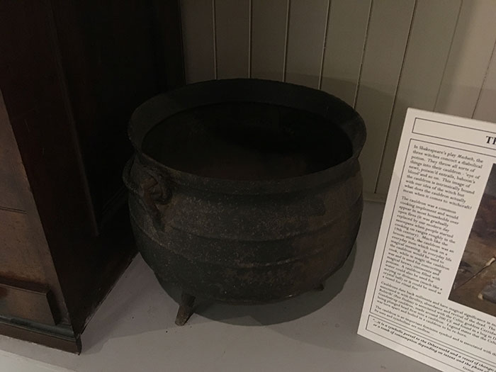 Cauldron at The Museum of Witchcraft and Magic