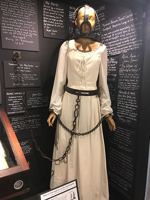 Persecution of witches at The Museum of Witchcraft and Magic