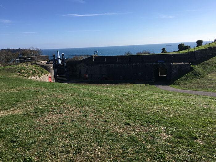 Defence at Pendennis Castle