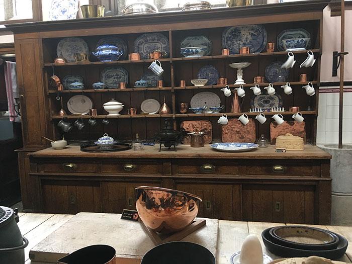 Kitchens at Lanhydrock