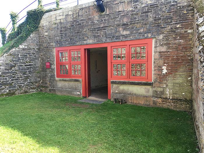 Entrance Pendennis Castle