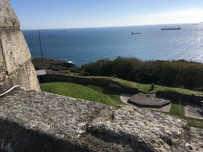 Views from Pendennis Castle