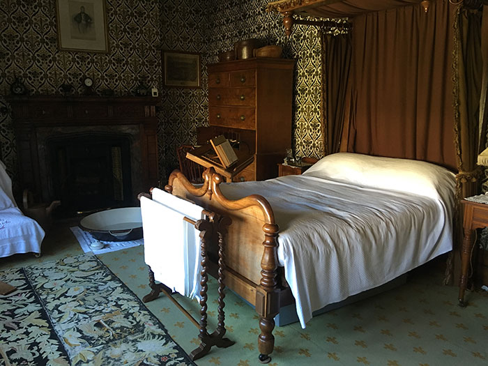 Bedroom at Lanhydrock