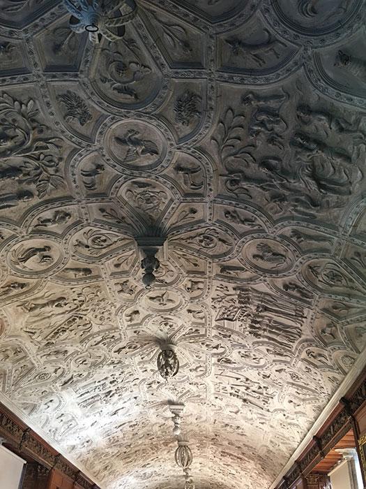 Ceiling at Lanhydrock