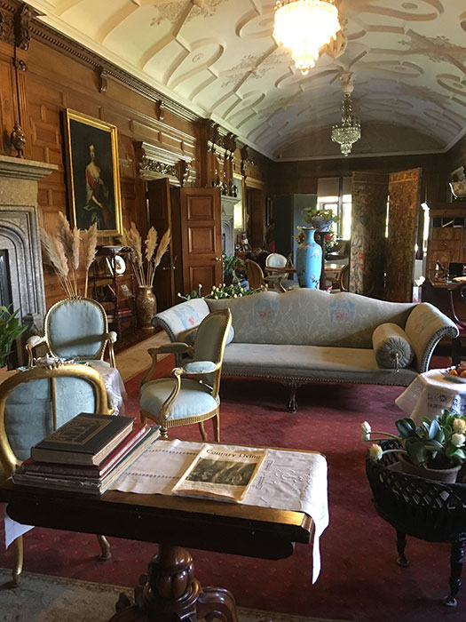 Room at Lanhydrock
