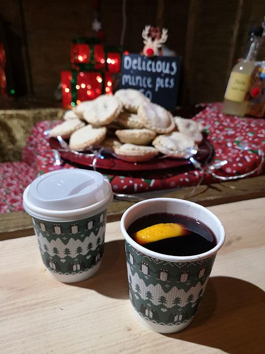Mulled wine at Christmas at Duhnam Massey