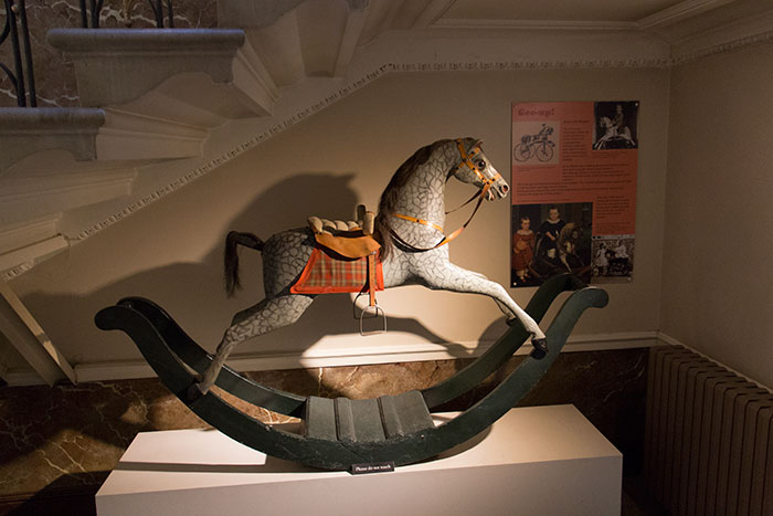 Horse toy at Blaise Castle House Museum