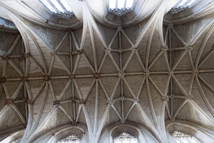 Malmesbury Abbey. Ceiling