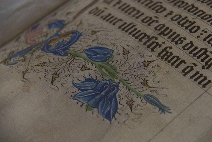 Malmesbury Abbey. Bible