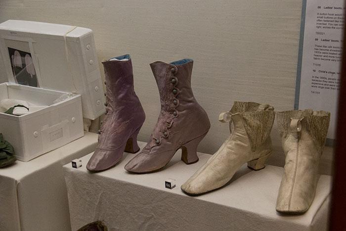 Shoes at Blaise Castle House Museum