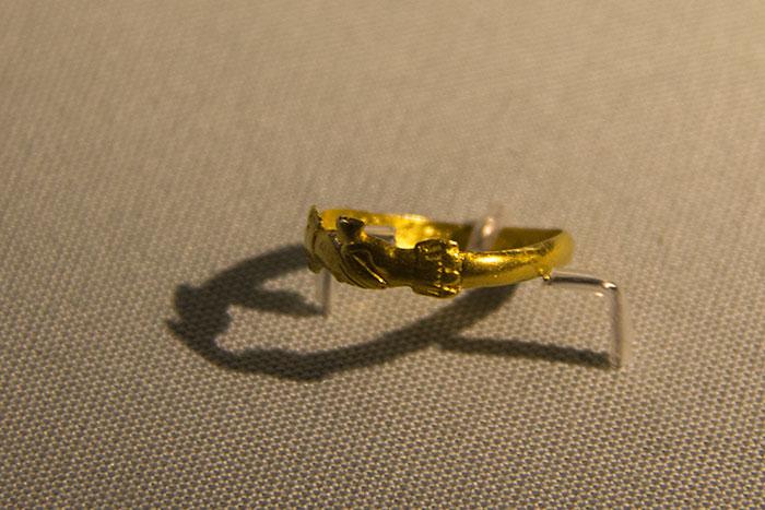 Ring at Athelstan Museum in Malmesbury