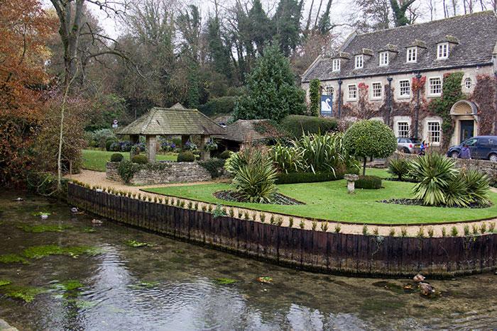 Swan hotel in Bibury