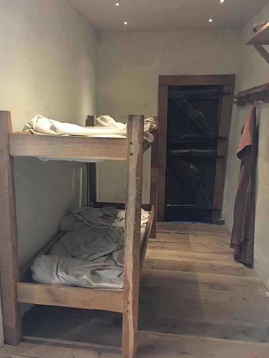 Corinium Museum. Roman barracks