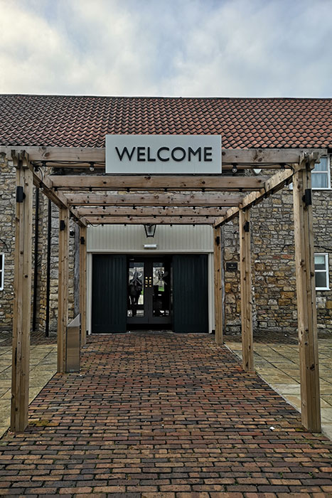 Scawsby Mill. Entrance