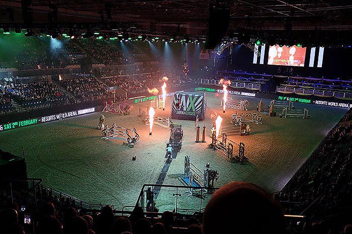 Liverpool International Horse Show. Bikes