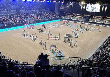 Liverpool International Horse Show. Horse Jumping