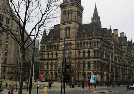 Picture from Manchester. Part of my Manchester Day Trip