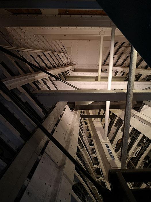 Interior of Cutty Sark