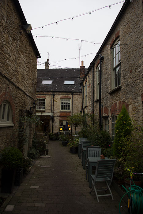 Narrow street in Tetbury
