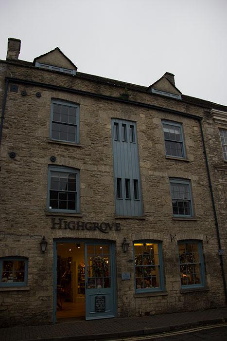 Highgrove shop in Tetbury