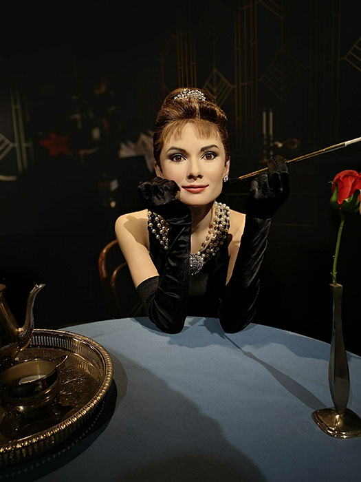 Audrey Hepburn at Madame Tussauds