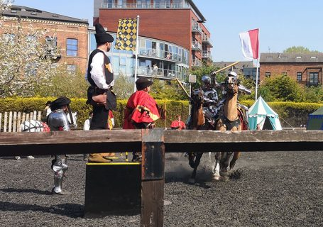 International Jousting Tournament at Royal Armouries, Leeds