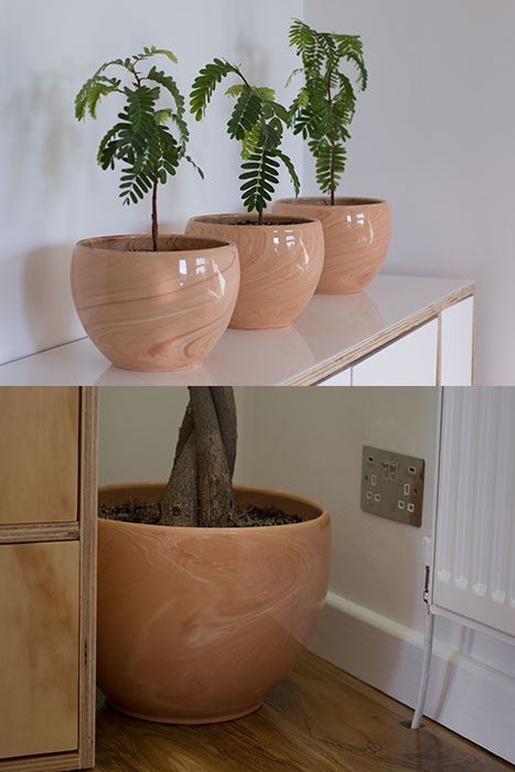 My Home Office - Plant pots