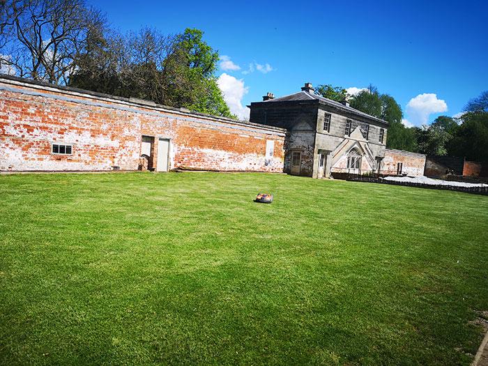 Shugborough - Walled garden