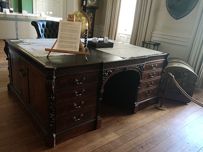 Shugborough - desk