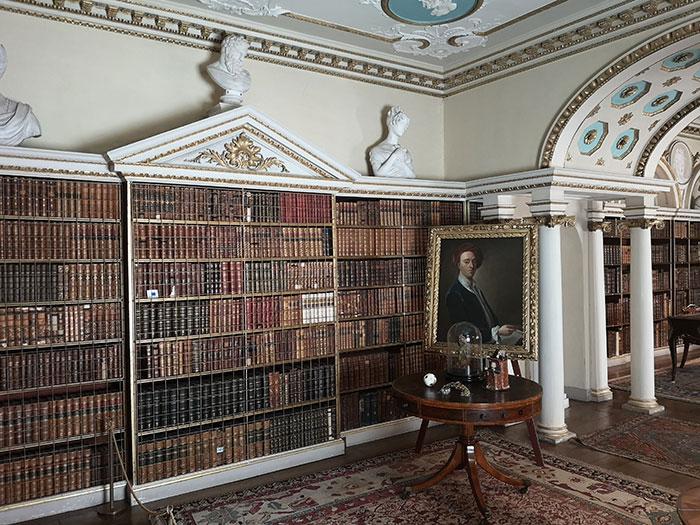 Shugborough - library