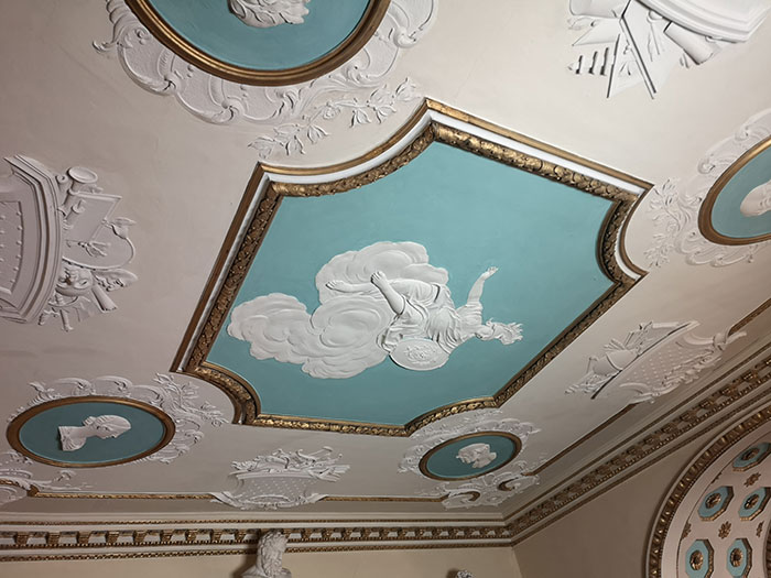 Shugborough - ceiling