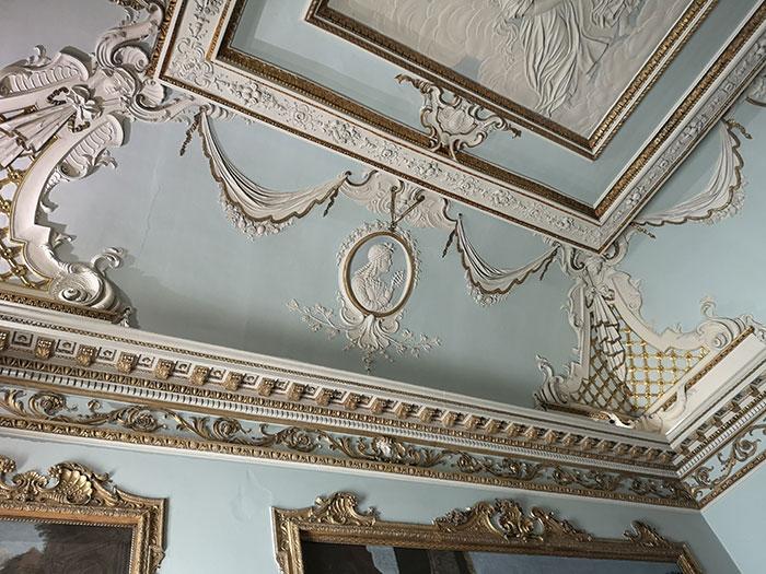 Shugborough ceiling