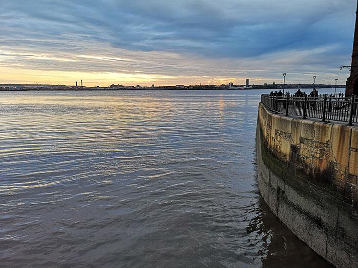 Mersey, seen from Liverpool
