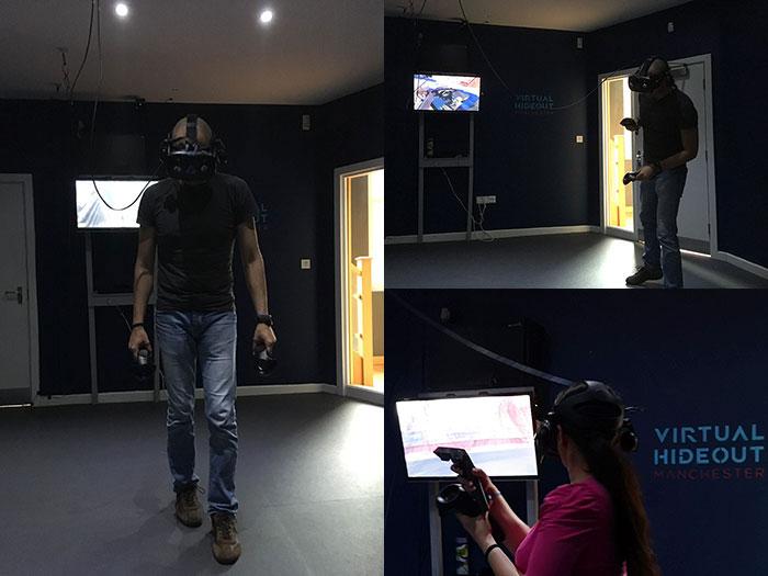 VR - Virtual Hideout - Buckt - Greater Manchester