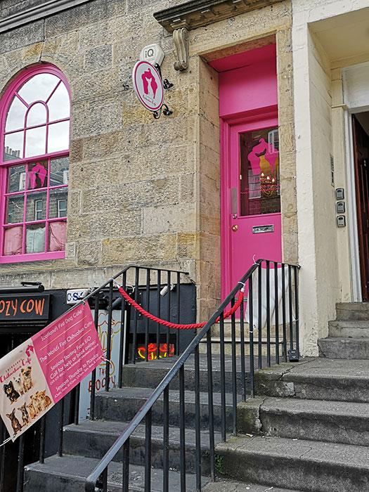Edinburgh Chihuahua Cafe - Entrance