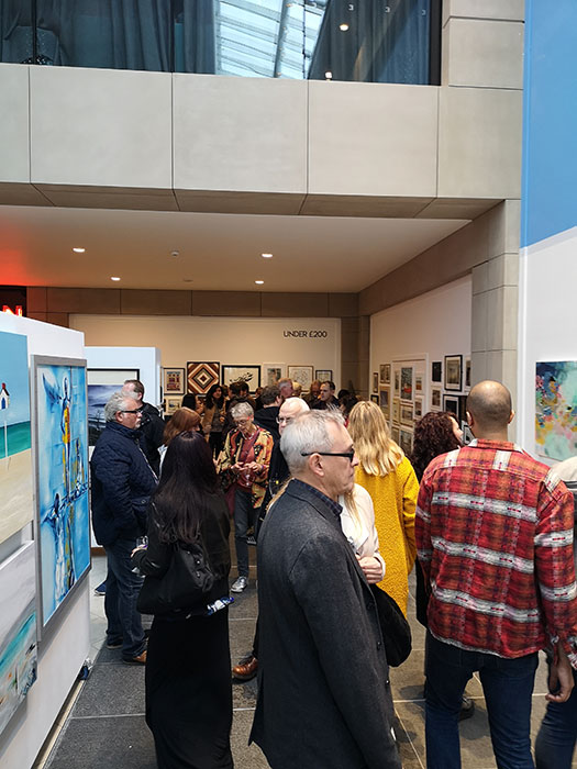 Liverpool Art Fair at Metquarter. Launch event