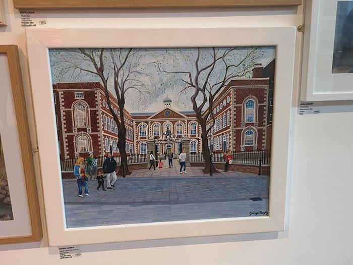 Liverpool Art Fair at Metquarter. Painting