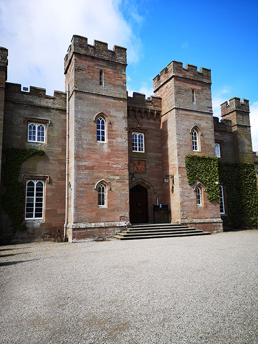 Scone Palace Entrance