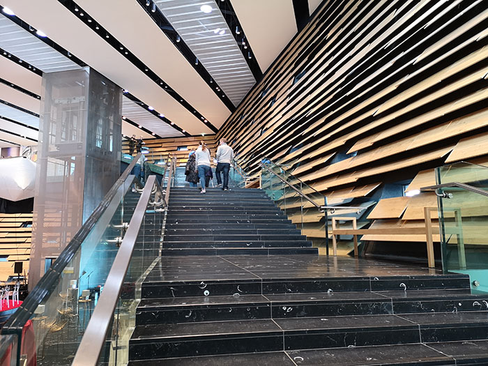 V&A Dundee stairs