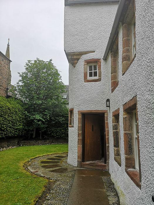 Abertarff House. Entrance
