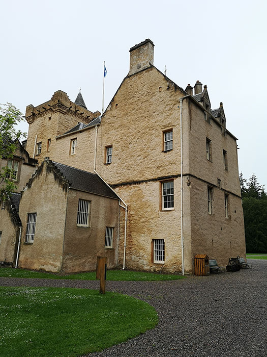 Brodie Castle. Exterior