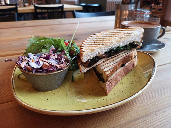 Clink Cafe. Manchester. Sandwich