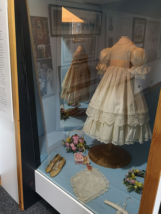 Dress at Clan Cameron Museum