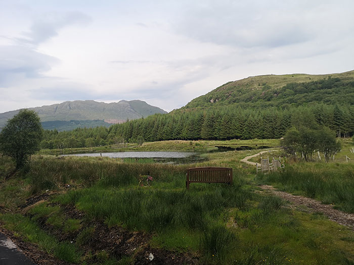 Highland Titles Nature Reserve. Lake