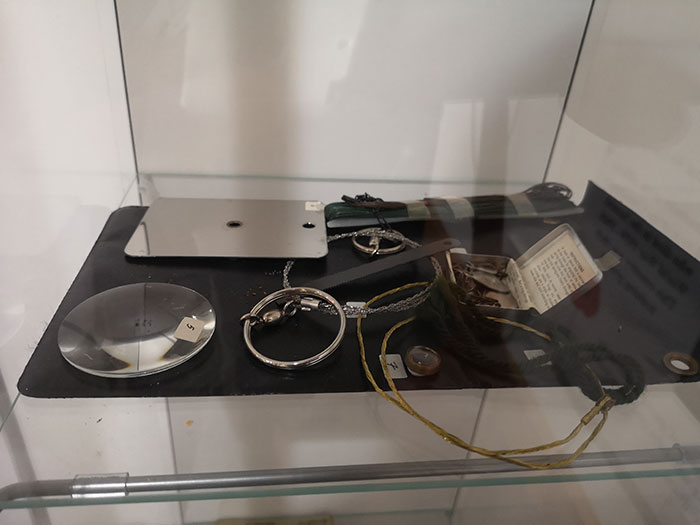 Items on display at Clan Cameron Museum