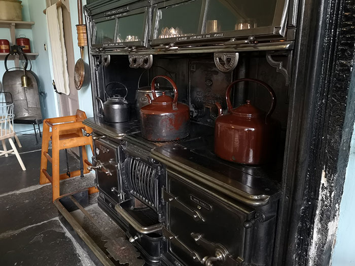 Kitchens at Brodie Castle