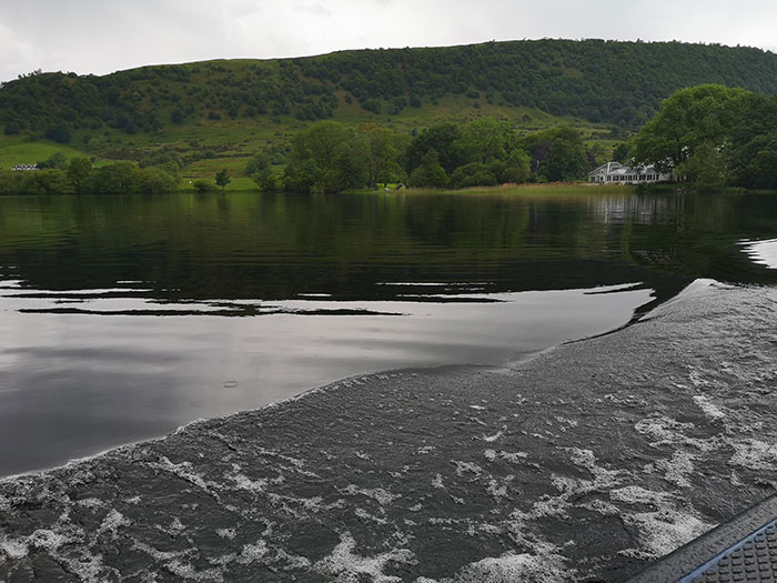 On the lake, going to Inchmahome Priory