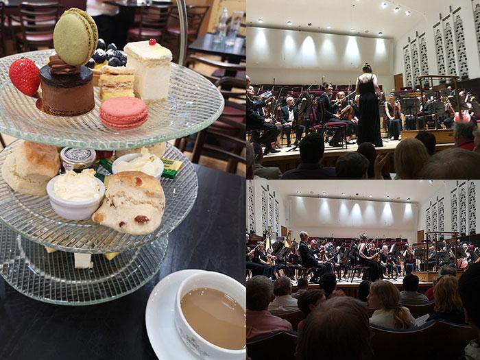 Unusual date Ideas - 1 Cream tea and Concert