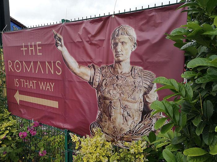 Unusual date Ideas - 5 The Romans